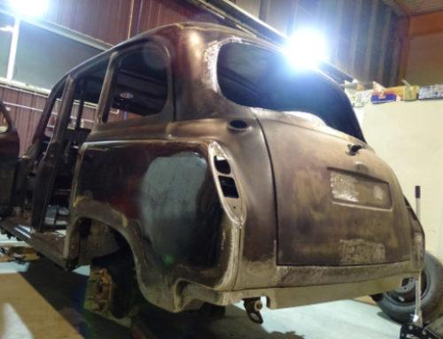 British Taxi Austin FX4